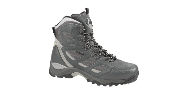 Pánské šedé vysoké trekingové boty Head