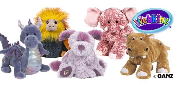Úžasně hebká plyšová zvířátka od Webkinz™ Ideální dárek pod vánoční stromek!