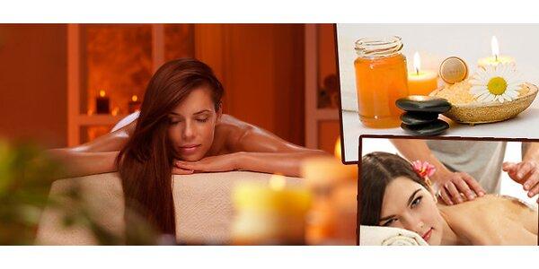 Relaxační masáž 3v1 kombinující Breussovu, klasickou masáž a masáž lávovými…