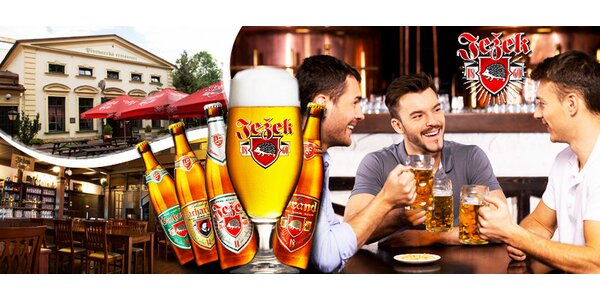 Exkurze do pivovaru s degustací a 3chodovým menu