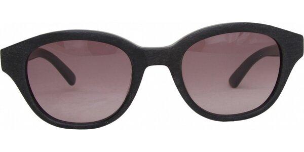 Retro brýle s růžovými sklíčky Jil Sander