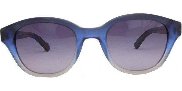 Modré duhové retro brýle Jil Sander