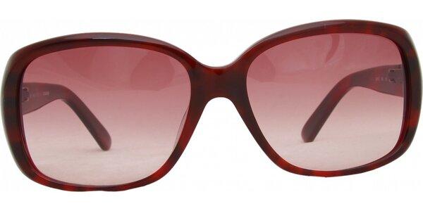 Dámské rudé brýle Jil Sander