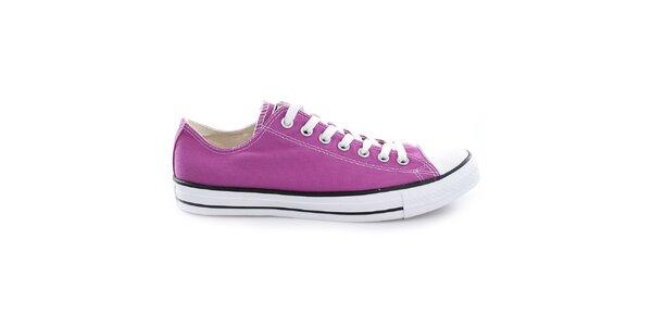 Nízké fialové tenisky Converse