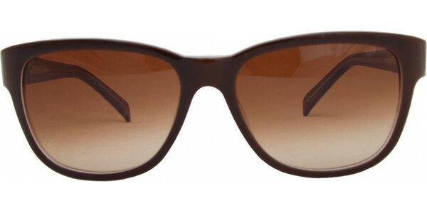 Dámské hnědé brýle Jil Sander