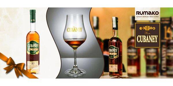 Oceňovaný dominikánský rum Cubaney Reserva 8 Años