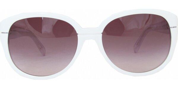 Dámské bílé brýle Jil Sander