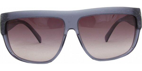 Dámské modrošedé retro brýle s narůžovělými sklíčky Jil Sander