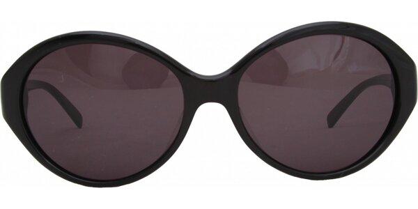 Dámské černé brýle s růžovými sklíčky Jil Sander