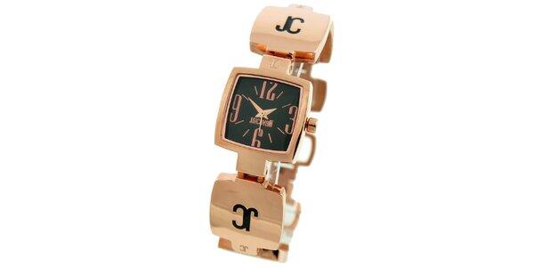 Dámské hodinky v tónu růžového zlata Just Cavalli