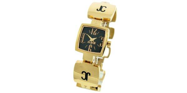Dámské hodinky ve zlatém tónu Just Cavalli