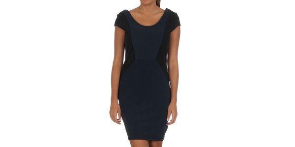 Dámské modro-černé šaty Vila Clothes