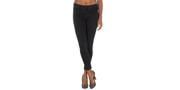 Dámské přiléhavé kalhoty na zip Vila Clothes