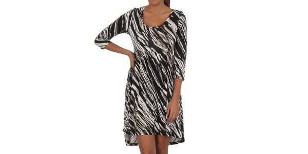 Dámské zebrované šaty Vila Clothes