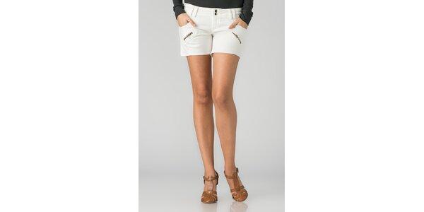Dámské bílé šortky By Zoé