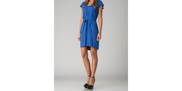 Dámské sytě modré šaty By Zoé