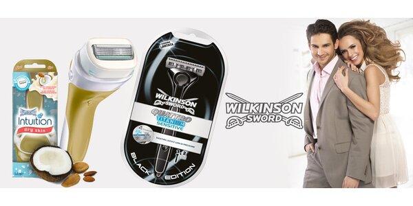 Holicí strojky Wilkinson pro dámy a pány