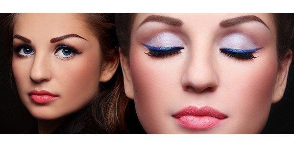 Permanentní make-up obočí 3D v centru Brna