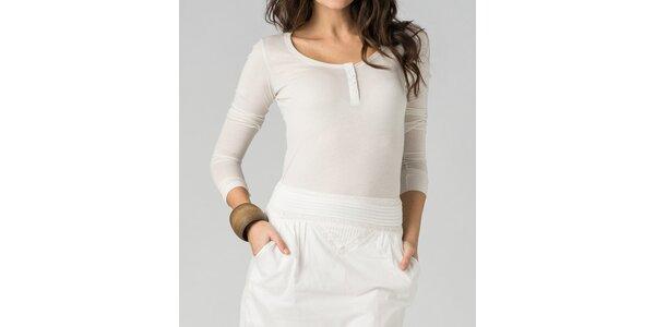 Dámské bílé tričko By Zoé