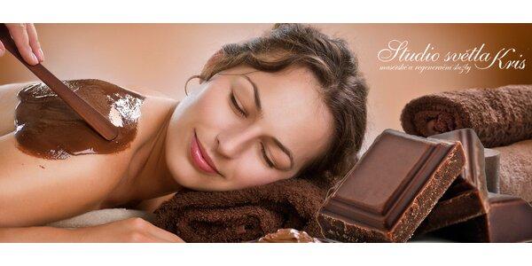 2 hodiny v čokoládě. Úžasná masáž