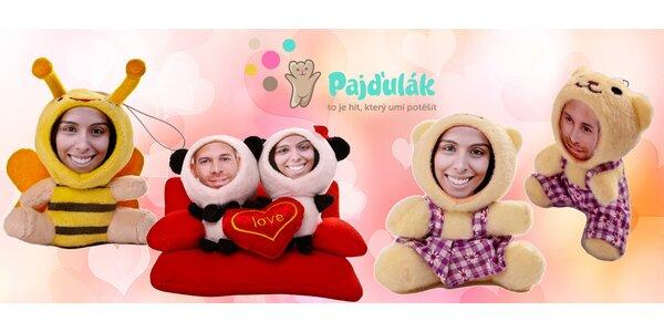 Plyšoví pajďuláci s vaší 3D fotografií