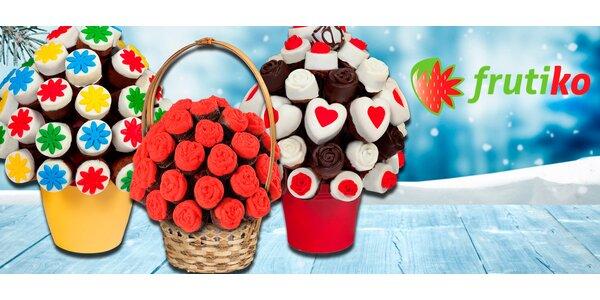 Dortové kytice Frutiko z voňavých sladkých muffinů