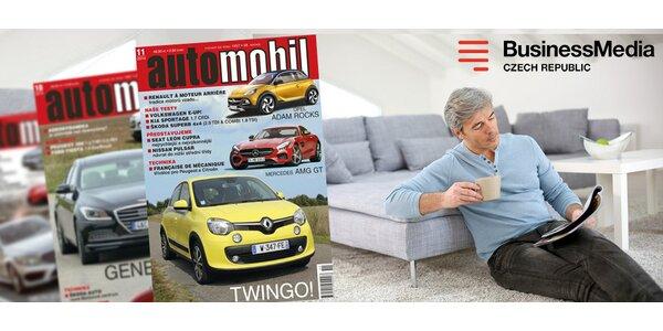 Roční předplatné Automobil revue