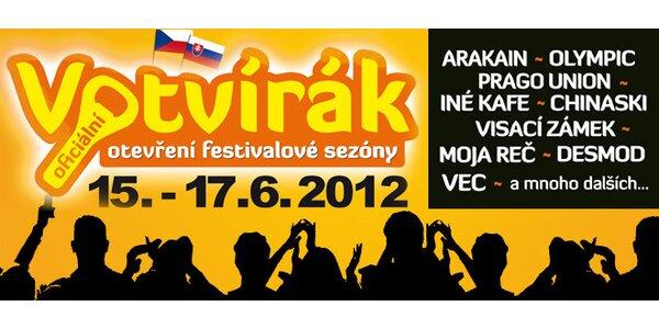 Lupeny na festival Votvírák!