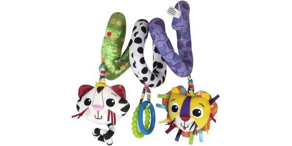 Hračky Lamaze pro rozvoj vašeho miminka Zábavná spirála