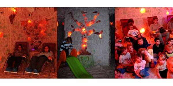 149 Kč za DVA vstupy do solné jeskyně Saltregenia.