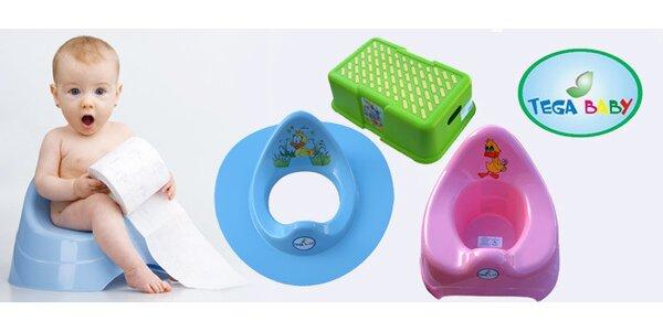 Set nočníku, stoličky a WC sedátka pro děti