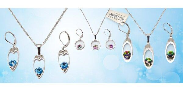 Souprava luxusních šperků s krystaly SWAROVSKI® ELEMENTS