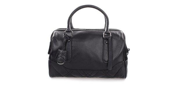 Dámská černá kožená kabelka Clarks