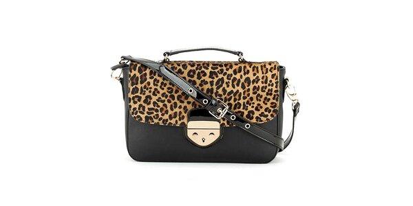 Dámská kabelka s leopardí klopou Clarks