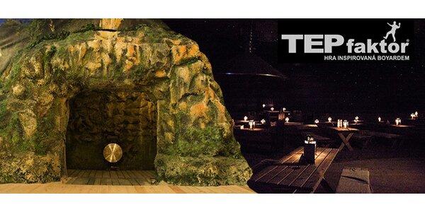 Dobrodružná hra TEPfaktor ve stylu pevnosti Boyard (2 hod)