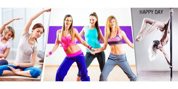 10 vstupů na pole dance nebo skupinová cvičení