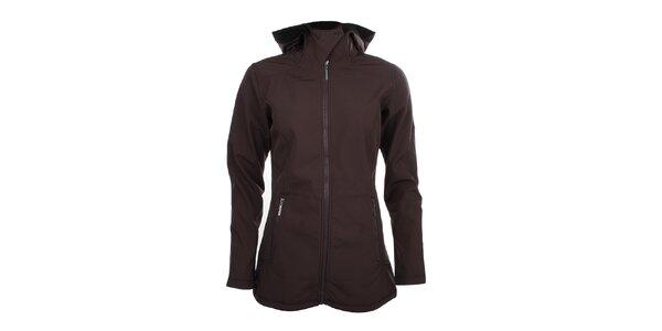 Dámská delší softshellová bunda Trimm - tmavě fialová