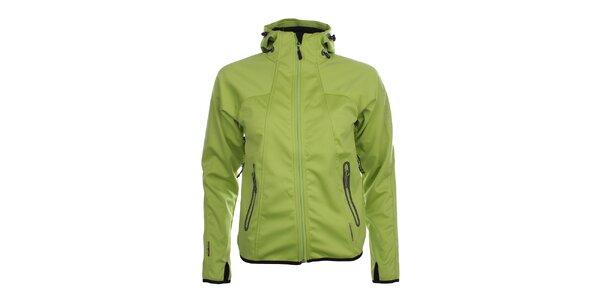 Dámská zelená funkční bunda Trimm