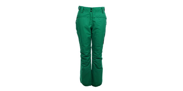 Dámské zimní kalhoty Trimm - zelené