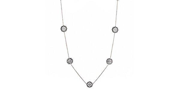 Dámský náhrdelník s ozdobami Fossil