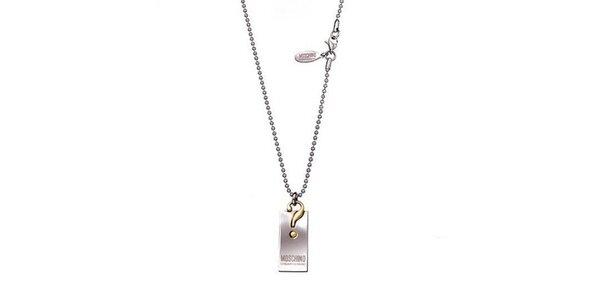 Dámský náhrdelník s přívěskem Moschino