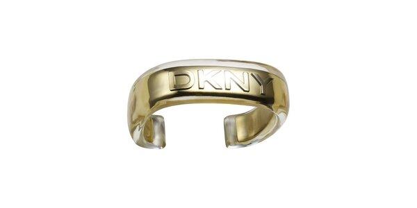 Dámský náramek ve zlaté barvě DKNY