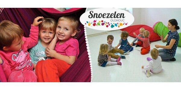 Hlídání dětí v rodinném centru Snoezelen Olomouc