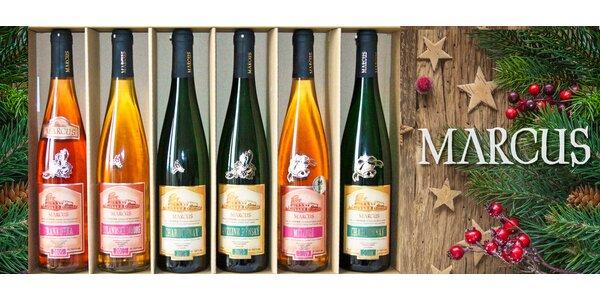 6 přívlastkových vín z Mikulova s vánočním zdobením