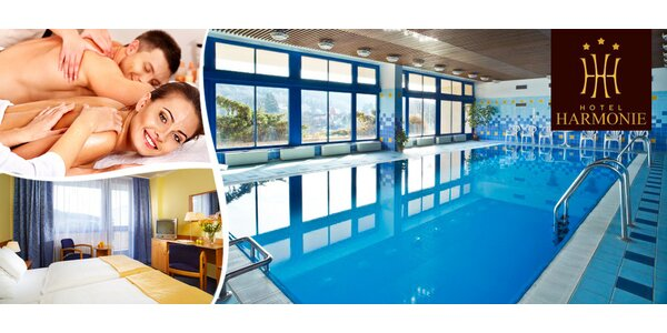 Kouzelný wellness v hotelu Harmonie v Luhačovicích