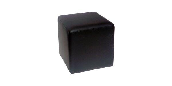 Taburet Domino - černý