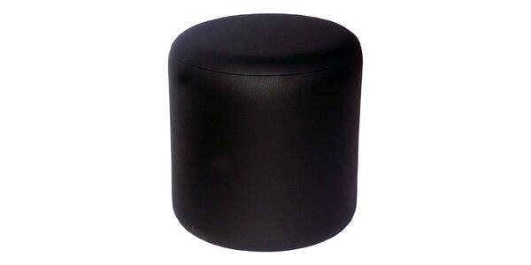 Taburet Pikolo Plus - černý