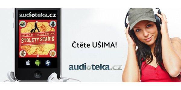 30% sleva na neomezený nákup audioknih