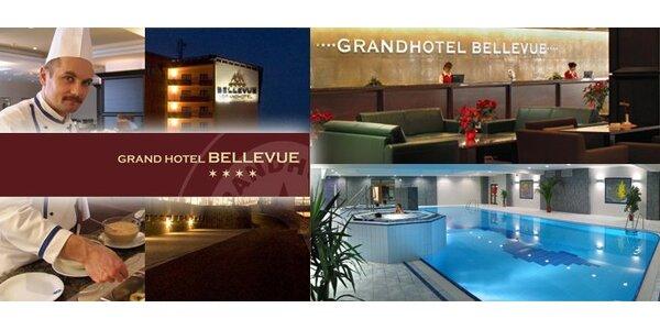 3999 Kč za 3denní pobyt pro dva v hotelu Bellevue ve Vysokých Tatrách!