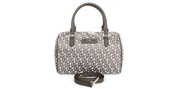Dámská kabelka s nápisy DKNY